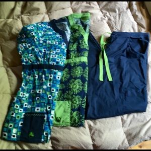 🐊CROCS 3 piece scrub set🐊